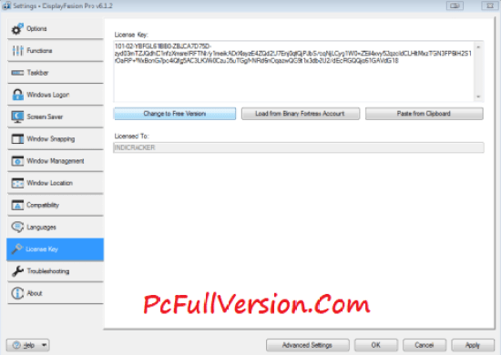 DisplayFusion Pro License Key & Crack Full Free Download