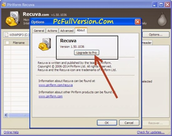 Recuva Pro Serial Key Full Version
