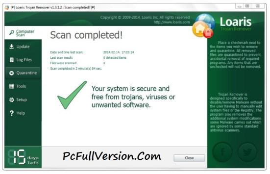 Loaris Trojan Remover License Key Full Version Download