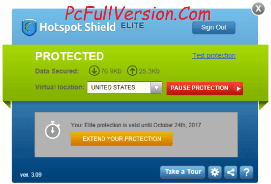Hotspot Shield VPN Elite 2017 Lifetime Crack Download