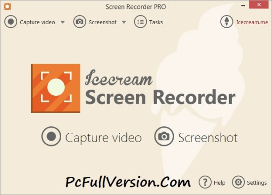 Icecream Screen Recorder Pro 4.98 Crack With License Key