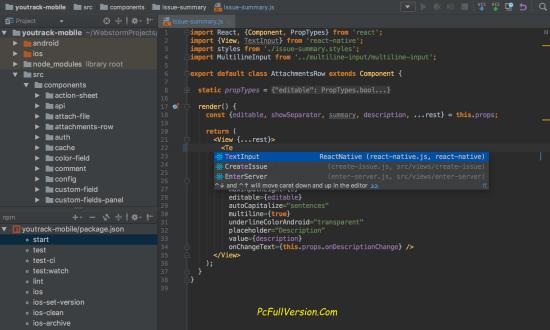 JetBrains Webstorm 2017.2.5 Crack With Activation Code