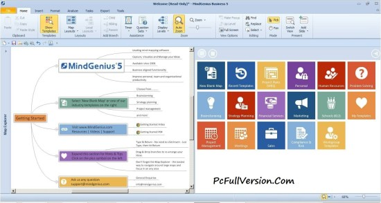 MindGenius Business 6 Crack Keygen Full Free Download