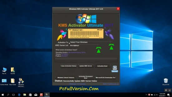 Windows KMS Activator Ultimate 2017 v3.4 Free Download