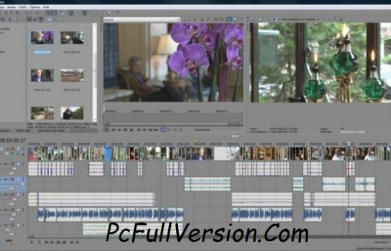 Sony Vegas PRO 14 Crack + Serial Number Full Download