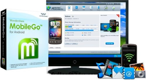 Wondershare MobileGo for Android Full Version Crack Download