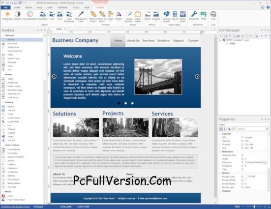 WYSIWYG Web Builder 12 Crack Download