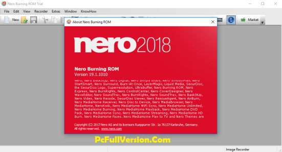 Nero Burning Rom 2018 Serial Number