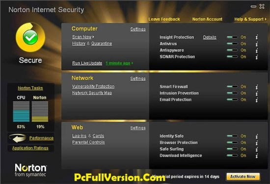 Norton Internet Security Serial Key