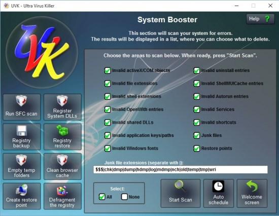 UVK Ultra Virus Killer Serial Key
