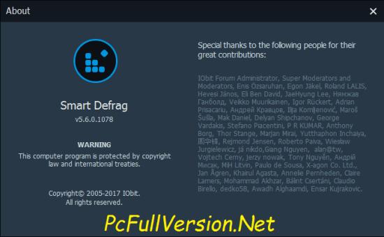 Iobit Smart Defrag PRO Crack Keygen + License Key Download