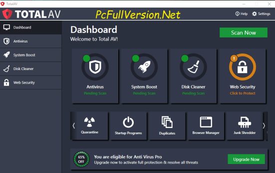 Total AV Antivirus Crack Keygen Full Free Download