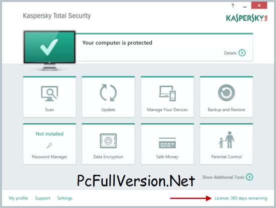 Kaspersky Total Security 2018 Crack + License Key Download