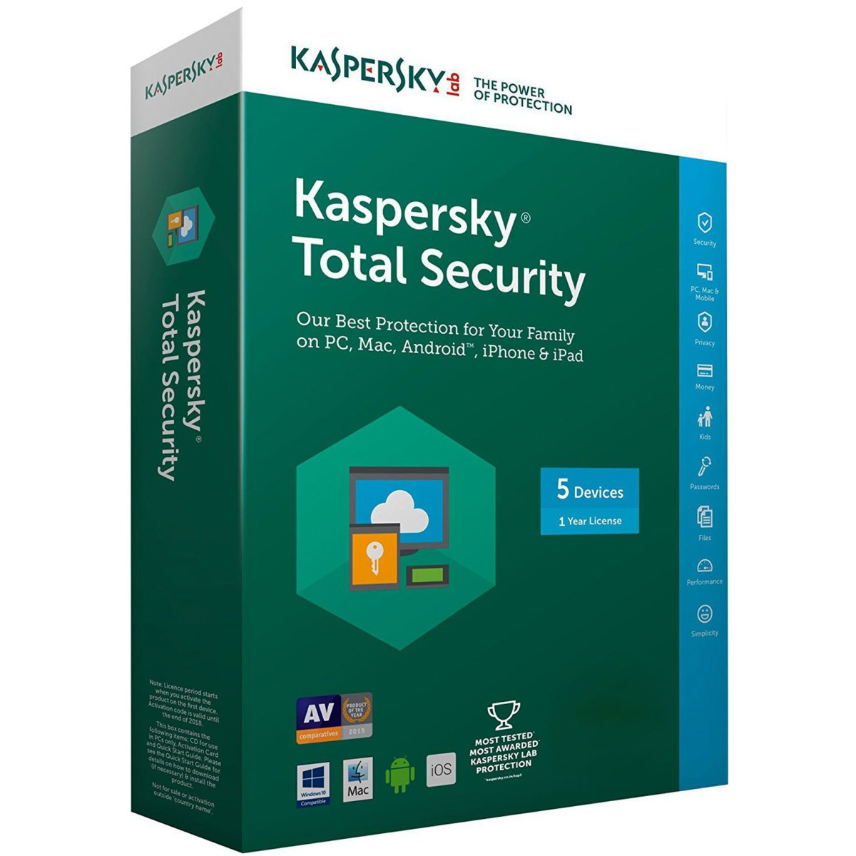 Kaspersky Total Security 2018 Crack + Activation Code Download