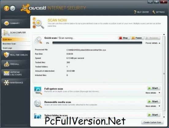 Avast Premier 2018 Crack & License File Till 2055 Full Download