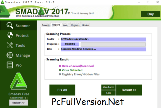 Smadav PRO Registration Name and Key