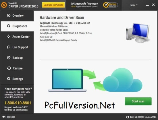 TweakBit Driver Updater Crack Download