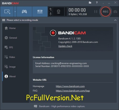 Bandicam Crack Keygen + Serial Key Full Version Download