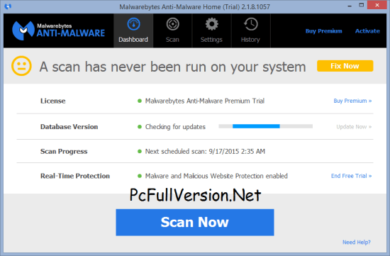Malwarebytes Anti-Malware 3.3.1 License Key 2018
