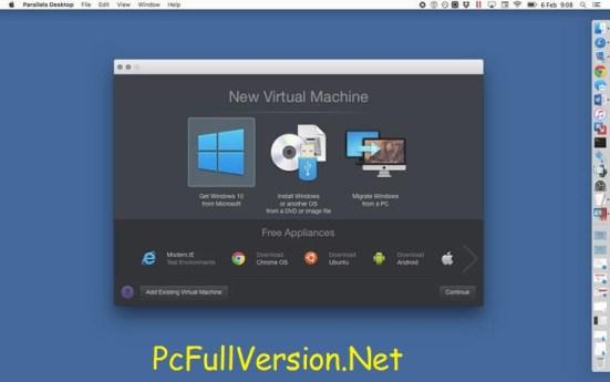 Parallels Desktop 13 Crack for Mac