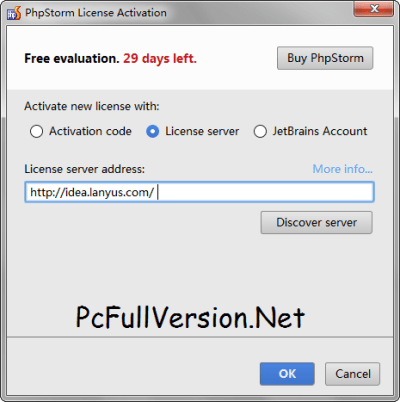 PhpStorm License Server