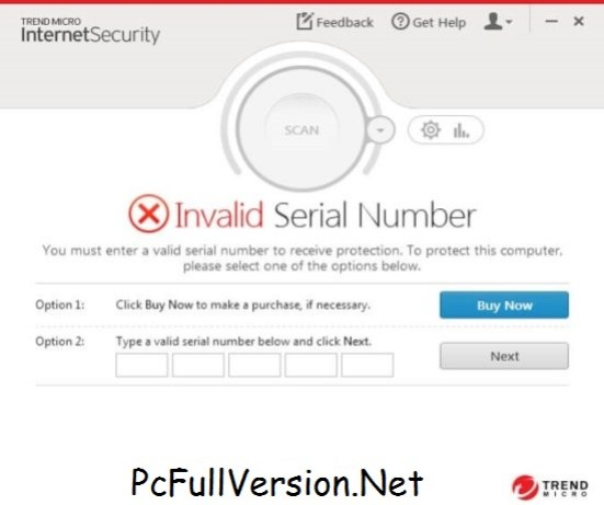 Trend Micro Internet Security 2018 Serial Number