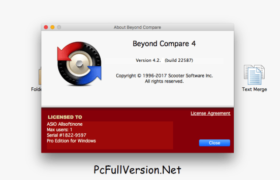Beyond Compare 4 Serial Key