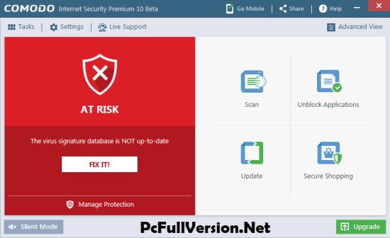 Comodo Internet Security Premium 10 License Key