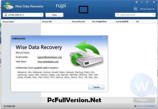 Wise Data Recovery Pro Crack Portable