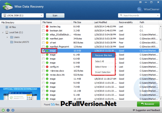 Wise Data Recovery With Crack