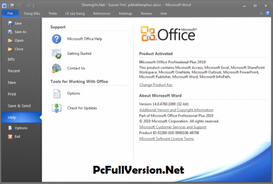 Microsoft Office 2010 Activated