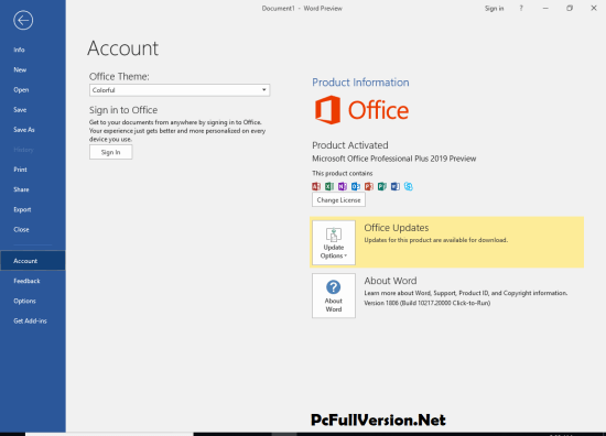 Microsoft Office 2019 Activator