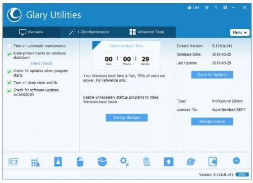 Glary Utilities Pro Activation Key
