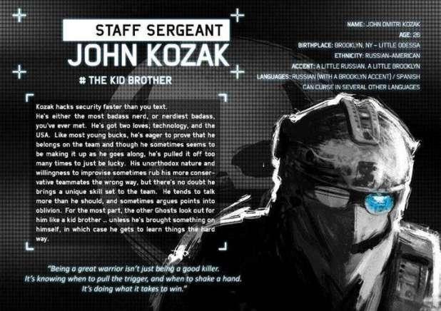 קוזאק הוא האחראי הבוגר בחבורת הרוחות. Wikimedia