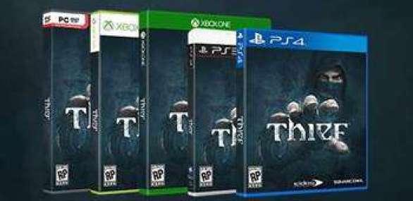 קופסאות המשחק Thief.