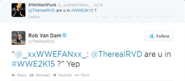 WWE2K15 RVD