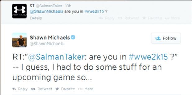 WWE 2K15 SHAWN MICHAELS