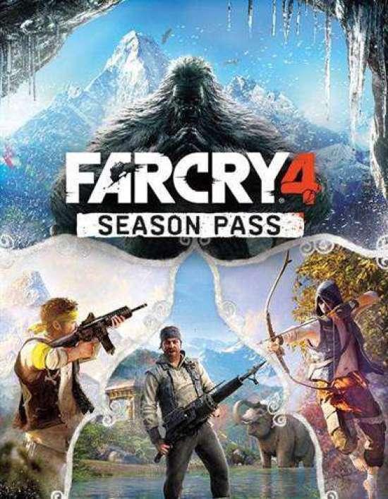 ה- Season Pass של Far Cry 4