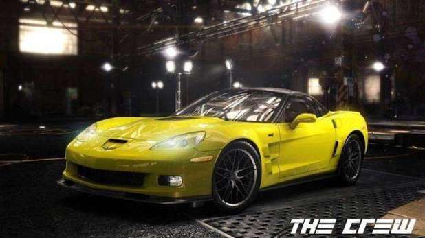 בתמונה: אחת מהמכוניות מ The Crew