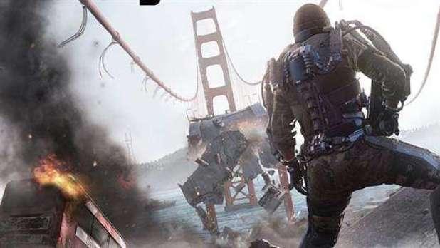 מתוך המשחק: Call Of Duty Advanced Warfare