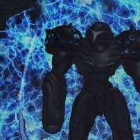 תמונת מצב שנלקחה מהמשחק השני בסדרה, Metroid Prime 2: Echoes.