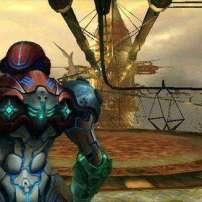 תמונת מצב שנלקחה מהמשחק השלישי בסדרה, Metroid Prime 3: Corruption.
