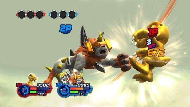 תמונת משחקיות מ-Digimon All-Star Rumble