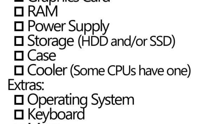 How To Build A Gaming Pc Assembly To Drivers Pc Game Haven