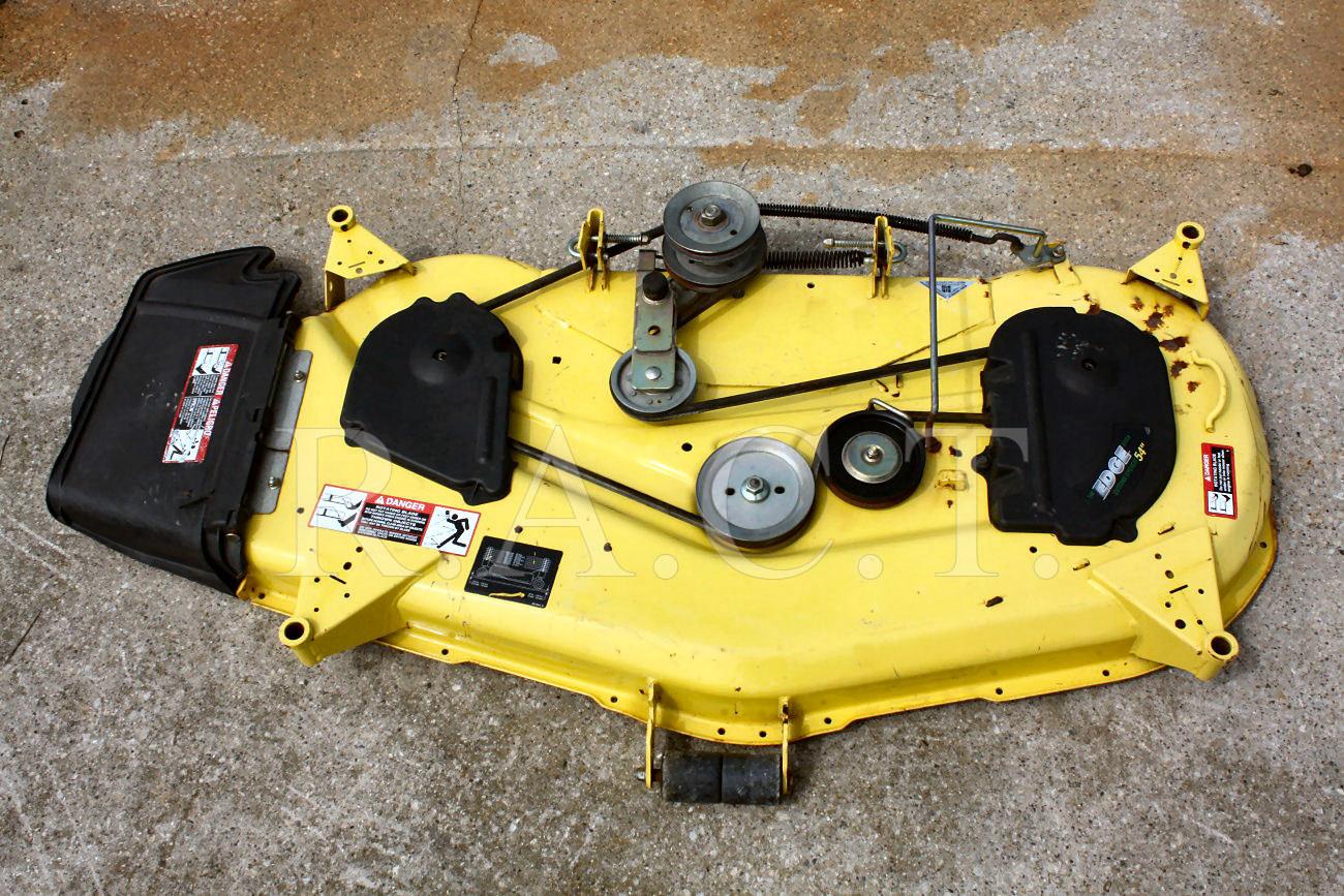 hight resolution of john deere gt lx series 54 mower deck 325 345 355 deck 1