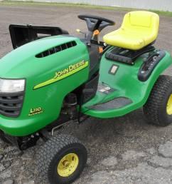 john deere l110 lawn tractor parts home weingartz [ 2048 x 1536 Pixel ]