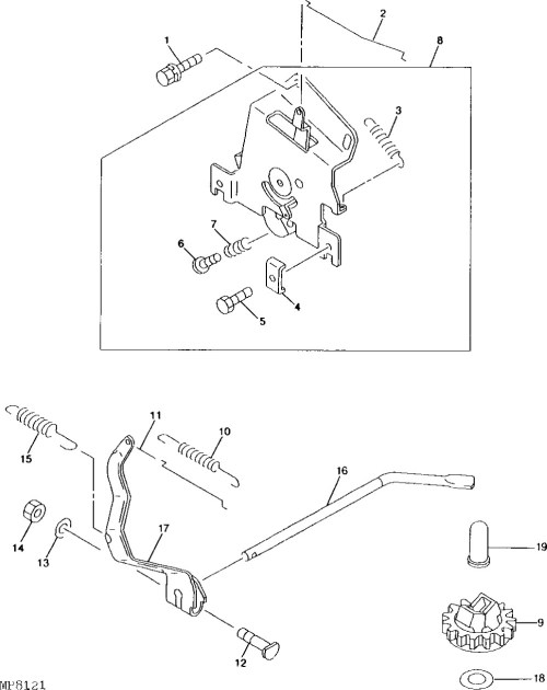 small resolution of john deere l g belt routing guide mytractorforum com