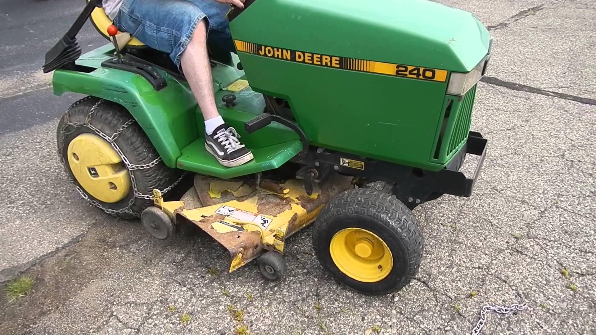hight resolution of john deere replacement part lawn mower model 240 engine
