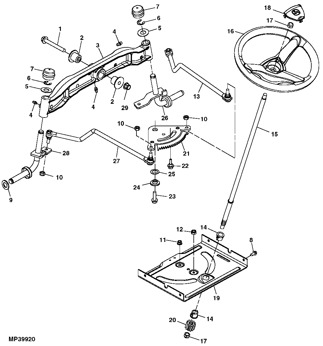 John Deere La145 Parts