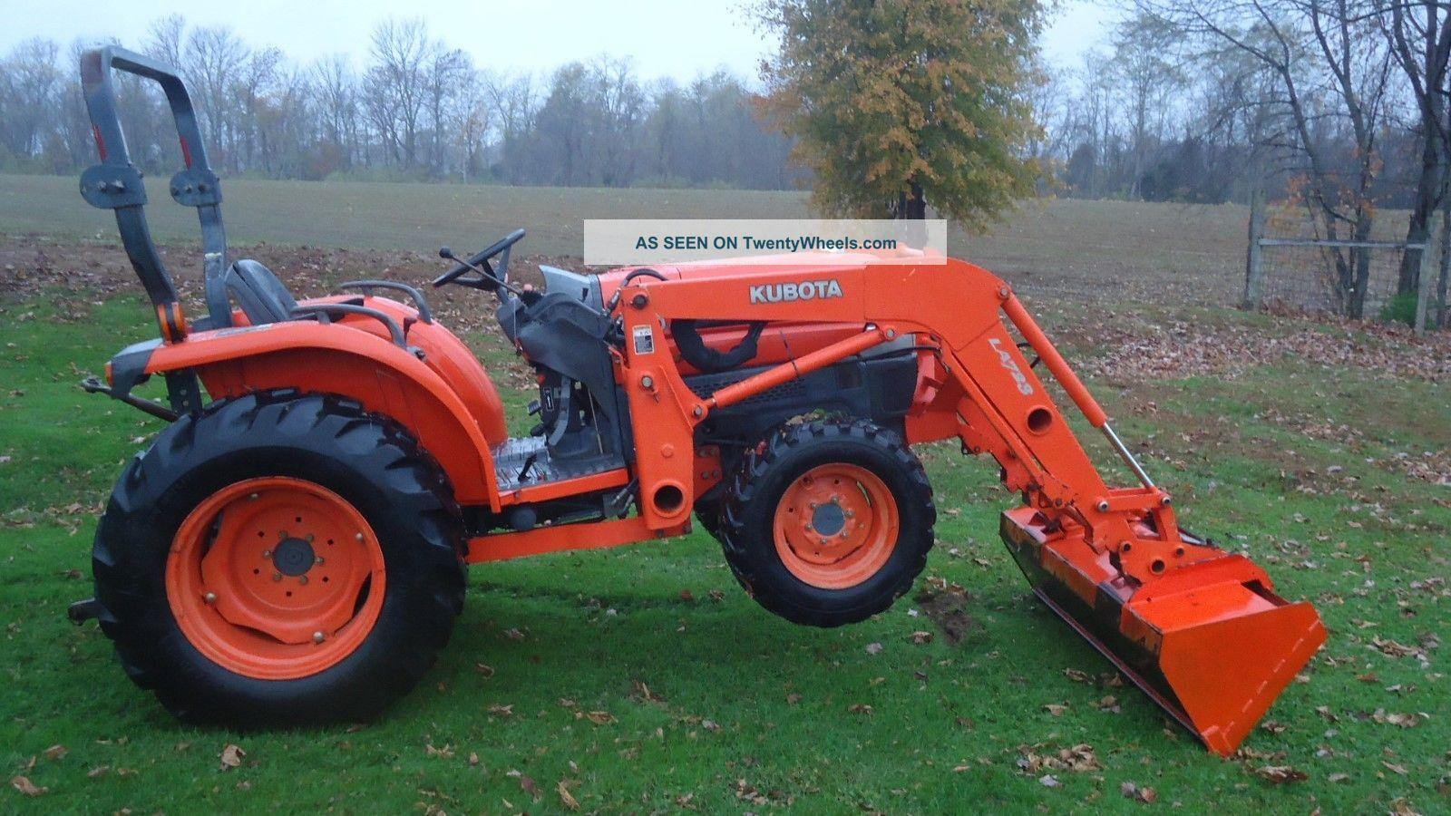 hight resolution of kubota l3130 tractor tractors photo 2